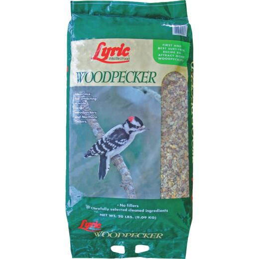 Lyric 20 Lb. Woodpecker No Waste Wild Bird Mix